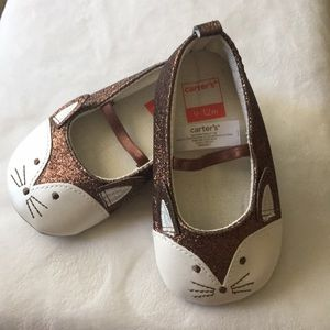 NWOT Carters Baby Shoes